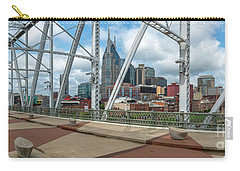 Nashville Cityscape From The Bridge Carry-all Pouch