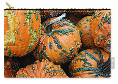 Nestled - Autumn Pumpkins Carry-all Pouch