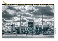 Carry-all Pouch featuring the photograph New Era Stadium by Guy Whiteley