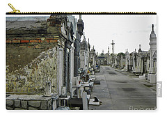 Carry-all Pouch featuring the photograph New Orleans Cemetery by Rosanne Licciardi