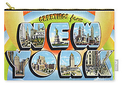 New York Greetings - Version  3 Carry-all Pouch