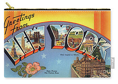New York Greetings - Version 4 Carry-all Pouch