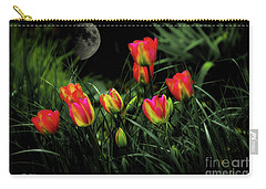 Night Tulips Carry-all Pouch