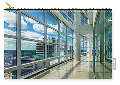 Carry-all Pouch featuring the photograph Nm Tower View by Randy Scherkenbach