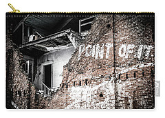 Carry-all Pouch featuring the photograph No Return by Melissa Lane