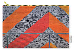 Carry-all Pouch featuring the photograph No Trespassing by Skip Hunt