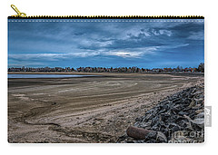 Carry-all Pouch featuring the photograph No Water Under The Bridge by Jon Burch Photography