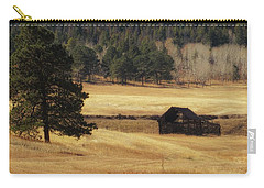 Carry-all Pouch featuring the photograph Noble Meadow Barn by Lukas Miller