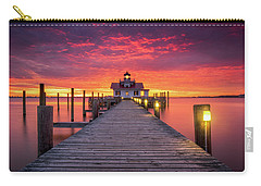 North Carolina Outer Banks Manteo Lighthouse Obx Nc Carry-all Pouch