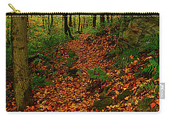 Carry-all Pouch featuring the photograph North Side Of Mount Greylock's At by Raymond Salani III
