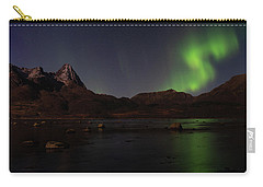 Northern Lights Aurora Borealis In Norway Carry-all Pouch