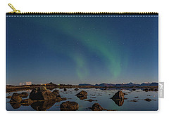 Northern Lights Over A Swamp  Carry-all Pouch