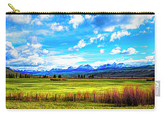 Carry-all Pouch featuring the photograph Northwest Wyoming Afternoon by Mike Braun
