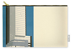 Nothing More Modern The Philadelphia Savings Fund Society Building, 1932 Carry-all Pouch