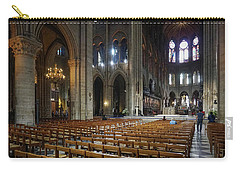 Carry-all Pouch featuring the photograph Notre-dame by Jim Mathis