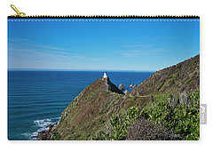 Carry-all Pouch featuring the photograph Nugget Point Lighthouse 3 - New Zealand by Steven Ralser