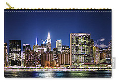 Carry-all Pouch featuring the photograph Nyc Nightshine by Theodore Jones