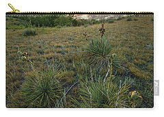 Carry-all Pouch featuring the photograph Oahe Sunset  by Aaron J Groen