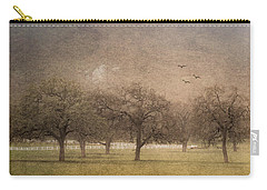 Oak Trees In Fog Carry-all Pouch