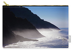 Carry-all Pouch featuring the photograph Ocean Beach Siuslaw National Forest Oregon by Rospotte Photography