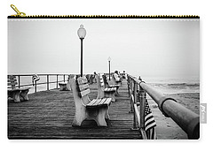 Carry-all Pouch featuring the photograph Ocean Grove Pier 2 by Steve Stanger
