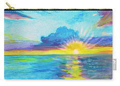 Ocean In The Morning Carry-all Pouch
