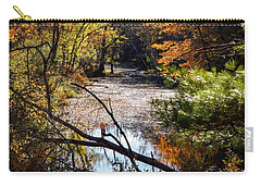 Carry-all Pouch featuring the photograph October Window by Kendall McKernon