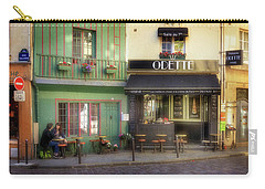 Carry-all Pouch featuring the photograph Odette Patisserie by Craig J Satterlee