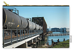 Oil Train Over Swinomish Channel Carry-all Pouch