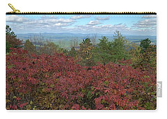 Carry-all Pouch featuring the photograph Oklahoma Scenic Trail  by Robin Maria Pedrero