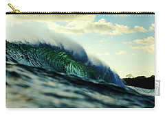 Carry-all Pouch featuring the photograph ola Verde by Nik West