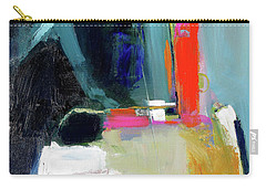 Carry-all Pouch featuring the painting Old Book Store by John Jr Gholson