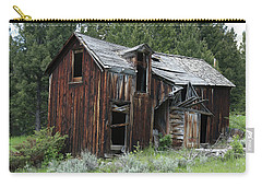 Old Cabin - Elkhorn, Mt Carry-all Pouch