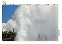 Old Faithful With Steam And Vapor Carry-all Pouch