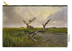 Old World Kestrel At Dawn Carry-all Pouch