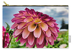 Carry-all Pouch featuring the photograph Ominous Sky by Brian Eberly
