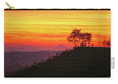 Carry-all Pouch featuring the photograph On The Viewpoint by Davor Zerjav