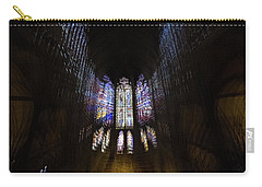 Carry-all Pouch featuring the photograph On The Wings Of A Dove by Alex Lapidus