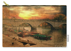 Once More To The Bridge Dear Friends Carry-all Pouch