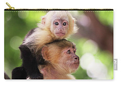 One Of Those Days When You Just Can't Seem To Get The Monkey Off Your Back Carry-all Pouch