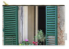 Open Window Of Tuscany Carry-all Pouch