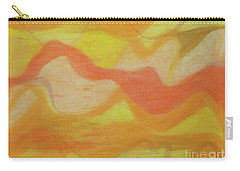 Orange Colors 1 Carry-all Pouch