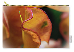 Orange Croton Carry-all Pouch