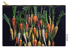 Organic Rainbow Carrots Carry-all Pouch