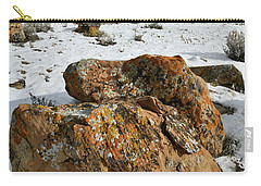 Ornate Colorful Boulders In The Book Cliffs Carry-all Pouch