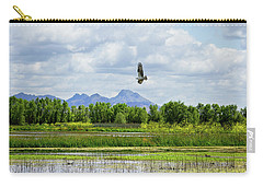 Osprey Over The Wetlands Carry-all Pouch