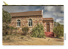 Carry-all Pouch featuring the photograph Our Lady Queen Of Peace, Yuna, Western Australia by Elaine Teague