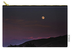 Carry-all Pouch featuring the photograph Over The Border by Alex Lapidus