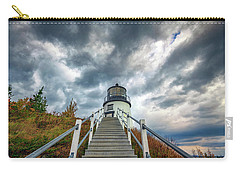 Carry-all Pouch featuring the photograph Owls Head Lighthouse by Rick Berk