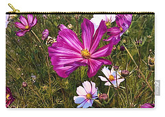 Carry-all Pouch featuring the photograph Painted Cosmos by Brian Eberly